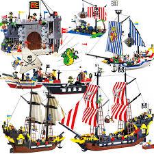 <b>870</b>+<b>pcs Big Black Pearl</b> Building Blocks Compatible with Pirates ...