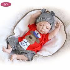 NPk <b>19 inch</b> 48CM <b>Full</b> Body <b>Silicone</b> Reborn Baby Boy Doll Bath ...