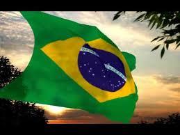 Resultado de imagem para hino nacional brasileiro no esporte