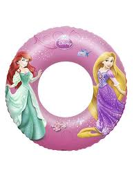5% <b>Bestway Надувной круг</b> для плавания Disney Princess 56см, 3 ...
