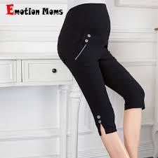 <b>Emotion Moms Fashion Maternity</b> Pants summer Maternity Trousers ...