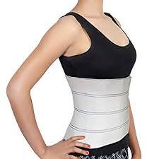 clomplu abdominal binder for man waist trainers male modeling straps belly corset men breathable steel bone tummy control