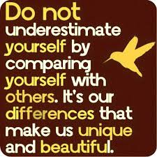 Image result for stop comparing yourself to others quotes