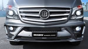 BRABUS Business Lounge based on the Mercedes-Benz Sprinter ...