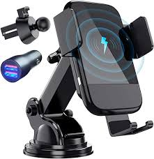 Wireless Car Charger, CTYBB Qi Auto-Clamping Air ... - Amazon.com