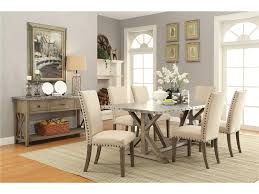 room table displays coaster set driftwood: coaster dining room set driftwood webber coaster round dining table sets