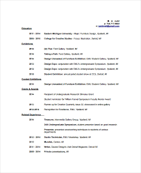 artist resume template     free word  pdf document downloads    artist resume template