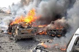 Image result for ۲۰ شهید و دهها مجروح در ۲ انفجار خونین زینبیه(س)