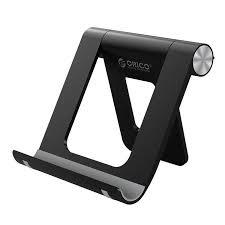 <b>Подставка Orico</b> универсальная под смартфон/планшет <b>Black</b> ...