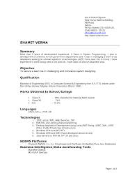 latest resume format doc resume format  basic