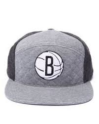Mitchell & Ness - Brooklyn Nets Quilted Horizon 6 Panel Snapback ...