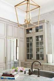 oversized brass hanging lanterns in the kitchen brass pendant lighting