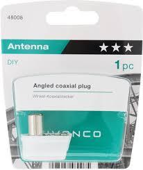 <b>Штекер антенный Vivanco</b> 48008 купить в интернет-магазине ...