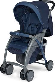 <b>Коляска прогулочная Chicco Simplicity</b> Plus Top Blue Passion ...