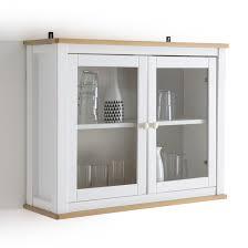 <b>Полка</b>-витрина из массива сосны, alvina белый <b>La Redoute</b> ...