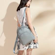Zency New Style <b>Women</b> Backpack <b>100</b>% <b>Genuine Leather</b> ...