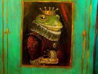 931 лучших изображений доски «Картины с лягушками. Paintings ...