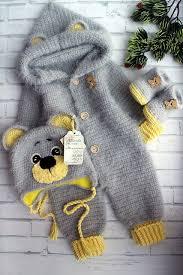 Pretty bear pattern by Wintersky Svetlana | Crochet baby clothes ...