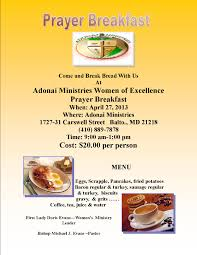 adonai ministries flyer