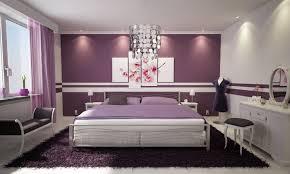bedroom purple colour schemes