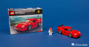 LEGO Speed Champions 75890 <b>Ferrari F40</b> Competizione [Review ...