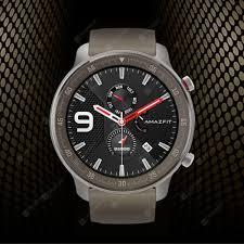 Умные часы <b>AMAZFIT GTR</b> 47мм титановая версия 24 дней срок ...
