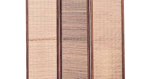 3-Panel Jute-Inlay <b>Folding</b> Screen/Room Divider | Home Design ...