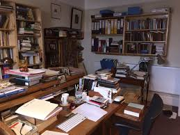 writers rooms gwyneth lewis wales arts review my husband accuses me of making nests all round the house for writing each one is usually a corner some cushions a rug and a place to pile books