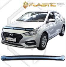 <b>Дефлектор капота</b> (classic чёрный) 2010010112622 <b>CA</b> Plastic ...