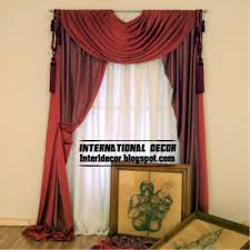room curtains catalog luxury designs: red drapes curtain luxury design for living room interior