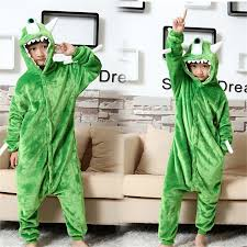 <b>animal</b> kigurumi green Monsters <b>Mike</b> Wazowski <b>onesie pajamas</b> for ...