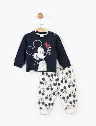 <b>Пижама Mickey Mouse</b> 6-9 мес (68-74 см) Disney ...