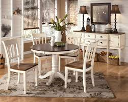 Five Piece Dining Room Sets White Round Dining Table Set Egiatk