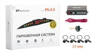 <b>Парктроник Blackview PS-4.5-18</b> Black. Купить парковочный ...