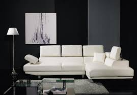 modern furniture puts together style and comfort all black furniture