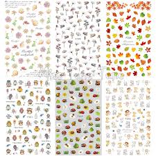 1 лист, 3D <b>наклейки</b> для ногтей, высокое качество, <b>декоративные</b> ...