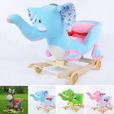 animal rocker baby kid rocking horse infant toddler children nursery toy walker baby nursery cool bee animal rocking horse