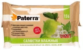 <b>Влажные салфетки</b> Paterra <b>Универсальные</b> — купить по ...