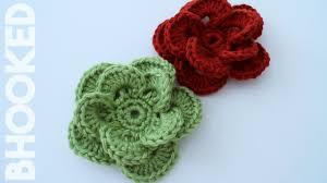 Crochet Wagon Wheel <b>Flower</b> Free Crochet <b>Pattern</b>