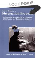 How to Prepare a dissertation Proposal   Suggestions for Students     Syracuse University Press