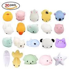 <b>LEEHUR</b> 20Pcs <b>Cute</b> Soft Squishy Toy, Squishy Toy Stress Re ...