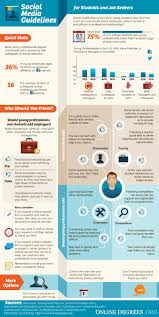social media tips for students and job seekers etr social media tips students job seekers infographic