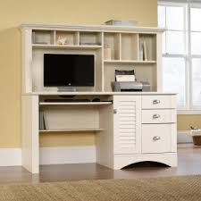awesome white wooden cabinet and bookshelves with cool computer desks for home office ideas awesome home office ideas glass computer