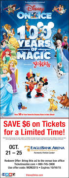 disney on ice years of magic discount flyer disney on ice 100 years of magic discount flyer