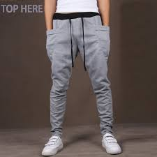 Casual Men Pants Unique Big Pocket <b>Hip Hop Harem Pants</b> Quality ...