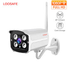 <b>LOOSAFE 2MP IP Camera</b> Home Wifi Security IP Camera Bullet ...