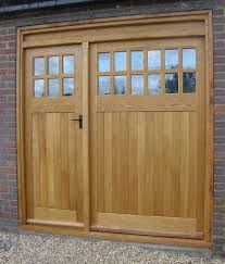 oak garage doors uk bespoke brickwork garage office