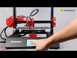 <b>Alfawise U50 DIY FDM</b> 3D Printer - YouTube