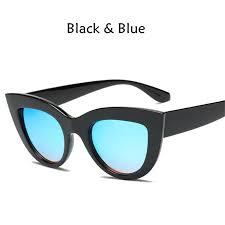 2019 <b>New</b> Cat Eye Women Sunglasses Tinted Color Lens <b>Men</b> ...