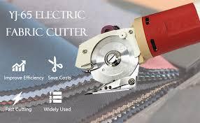 BAOSHISHAN Electric Rotary <b>Fabric</b> Mini <b>Cutter</b> Shears <b>Cloth</b> ...